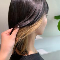 ブリーチカラー ハイトーンカラー モード 髪質改善トリートメント ヘアスタイルや髪型の写真・画像
