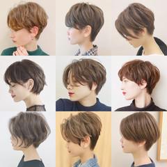 エレガント アウトドア デート スポーツ ヘアスタイルや髪型の写真・画像