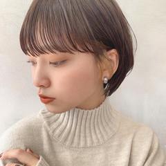 大人可愛い ショート デートヘア ナチュラル可愛い ヘアスタイルや髪型の写真・画像