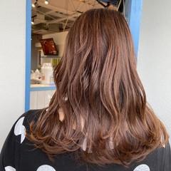 艶髪 爽やか 艶カラー 大人かわいい ヘアスタイルや髪型の写真・画像