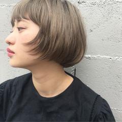 ショート モード ヘアアレンジ 透明感 ヘアスタイルや髪型の写真・画像