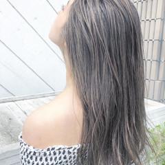 ビーチガール 3Dハイライト ロング ハイライト ヘアスタイルや髪型の写真・画像