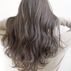 ロング 3Dハイライト ナチュラル ハイライト ヘアスタイルや髪型の写真・画像