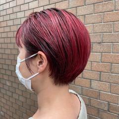 ショート ショートボブ ブリーチ ショートヘア ヘアスタイルや髪型の写真・画像