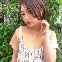 ショートヘア オフィス メイク コスメ・メイク ヘアスタイルや髪型の写真・画像