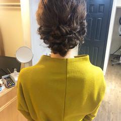 パーティ ヘアアレンジ 成人式 結婚式 ヘアスタイルや髪型の写真・画像