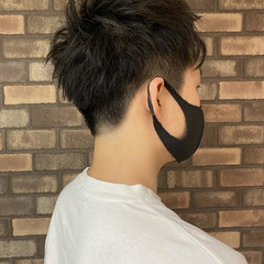 ツーブロック メンズスタイル ナチュラル メンズヘア ヘアスタイルや髪型の写真・画像