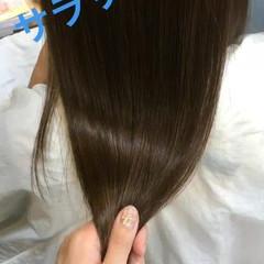 モテ髪 透明感 艶髪 フェミニン ヘアスタイルや髪型の写真・画像