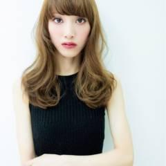 愛され セミロング 秋 モテ髪 ヘアスタイルや髪型の写真・画像