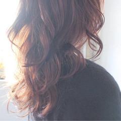 簡単 セミロング ゆるふわ ナチュラル ヘアスタイルや髪型の写真・画像