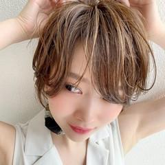 ハンサムショート ショートヘア ナチュラル マッシュショート ヘアスタイルや髪型の写真・画像
