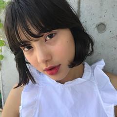 束感バング デート モード 女子会 ヘアスタイルや髪型の写真・画像
