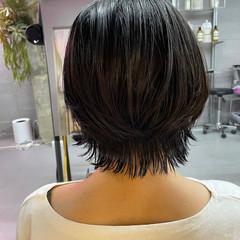 ショート ウルフ女子 ショートヘア ウルフカット ヘアスタイルや髪型の写真・画像