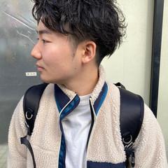 メンズ ツーブロック メンズカット マッシュショート ヘアスタイルや髪型の写真・画像
