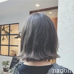 外国人風 ハイライト 夏 暗髪 ヘアスタイルや髪型の写真・画像