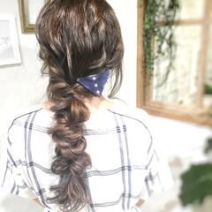 簡単ヘアアレンジ ナチュラル ヘアセット動画 簡単スタイリング ヘアスタイルや髪型の写真・画像