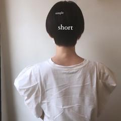 ミニボブ ショートボブ ショートヘア 髪質改善 ヘアスタイルや髪型の写真・画像