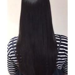 髪質改善トリートメント 縮毛矯正 エレガント セミロング ヘアスタイルや髪型の写真・画像
