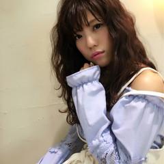 アンニュイ 透明感 大人かわいい ウェーブ ヘアスタイルや髪型の写真・画像