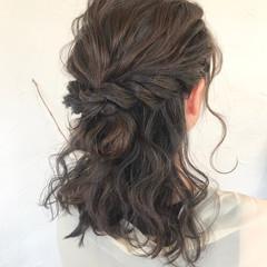 ヘアアレンジ 結婚式 成人式 ナチュラル ヘアスタイルや髪型の写真・画像