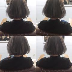 ハイライト 大人女子 アッシュ 小顔 ヘアスタイルや髪型の写真・画像