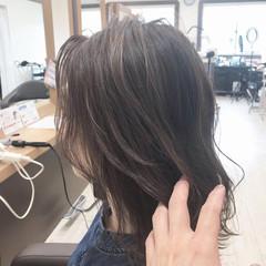 グレージュ 外国人風カラー ヘアカラー 透明感カラー ヘアスタイルや髪型の写真・画像