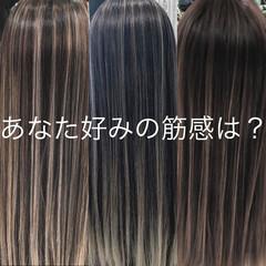 外国人風 デート ストリート バレイヤージュ ヘアスタイルや髪型の写真・画像