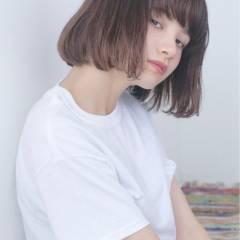 大人かわいい ストリート 外国人風 ボブ ヘアスタイルや髪型の写真・画像