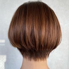 ボブ フェミニン ショートヘア ショートボブ ヘアスタイルや髪型の写真・画像