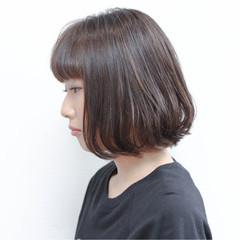色気 暗髪 外国人風 ボブ ヘアスタイルや髪型の写真・画像
