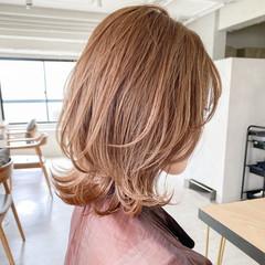 結婚式 外ハネボブ 簡単ヘアアレンジ ナチュラル ヘアスタイルや髪型の写真・画像