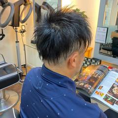 メンズカット メンズヘア メンズスタイル ショート ヘアスタイルや髪型の写真・画像