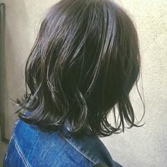 大人かわいい アッシュグレージュ ボブ グレージュ ヘアスタイルや髪型の写真・画像
