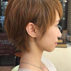 ショート フェミニン 外国人風 大人かわいい ヘアスタイルや髪型の写真・画像