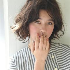 ニュアンス ガーリー パーマ 外国人風 ヘアスタイルや髪型の写真・画像