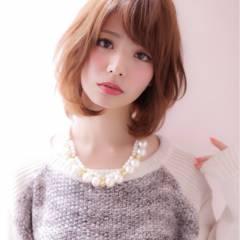 冬 モテ髪 大人かわいい ナチュラル ヘアスタイルや髪型の写真・画像