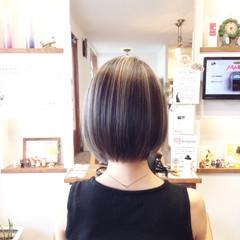成人式 バレイヤージュ エレガント メッシュ ヘアスタイルや髪型の写真・画像