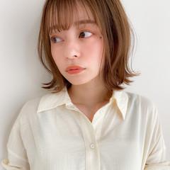 アンニュイほつれヘア ボブ ナチュラル モテ髪 ヘアスタイルや髪型の写真・画像