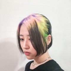 ブリーチ ホワイトブリーチ ブリーチカラー ブリーチオンカラー ヘアスタイルや髪型の写真・画像