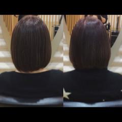 ミニボブ 髪質改善 髪質改善カラー ボブ ヘアスタイルや髪型の写真・画像