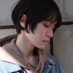 ショートヘア ショート ナチュラル マッシュショート ヘアスタイルや髪型の写真・画像