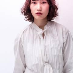 ゆるふわ ボブ 外国人風 秋 ヘアスタイルや髪型の写真・画像
