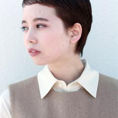 ベリーショート ナチュラル ショート ショートボブ ヘアスタイルや髪型の写真・画像