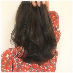外国人風カラー グレージュ オフィス アッシュ ヘアスタイルや髪型の写真・画像