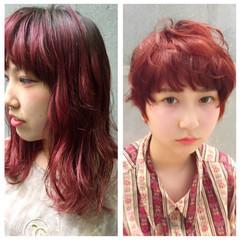 ストレート ハイトーン ショート 外国人風 ヘアスタイルや髪型の写真・画像