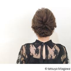 ゆるふわ アップスタイル フェミニン 外国人風 ヘアスタイルや髪型の写真・画像