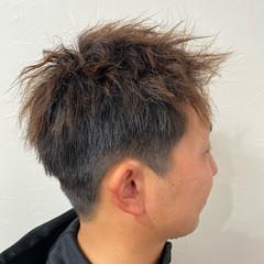 メンズカット メンズヘア ショート ガーリー ヘアスタイルや髪型の写真・画像