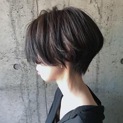 ショートボブ マッシュショート ベリーショート ショート ヘアスタイルや髪型の写真・画像