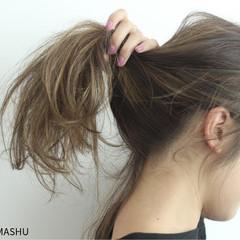 ストリート 外国人風 ハイライト 大人かわいい ヘアスタイルや髪型の写真・画像