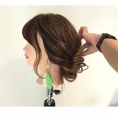 フェミニン デート 女子会 ショート ヘアスタイルや髪型の写真・画像